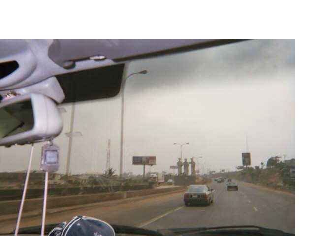Road to Lagos from