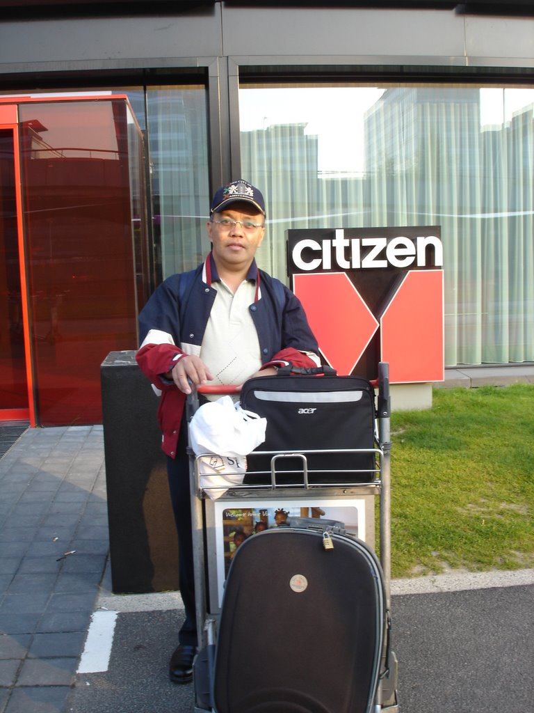 Citizen M hotel, Schipol Airport, Holland