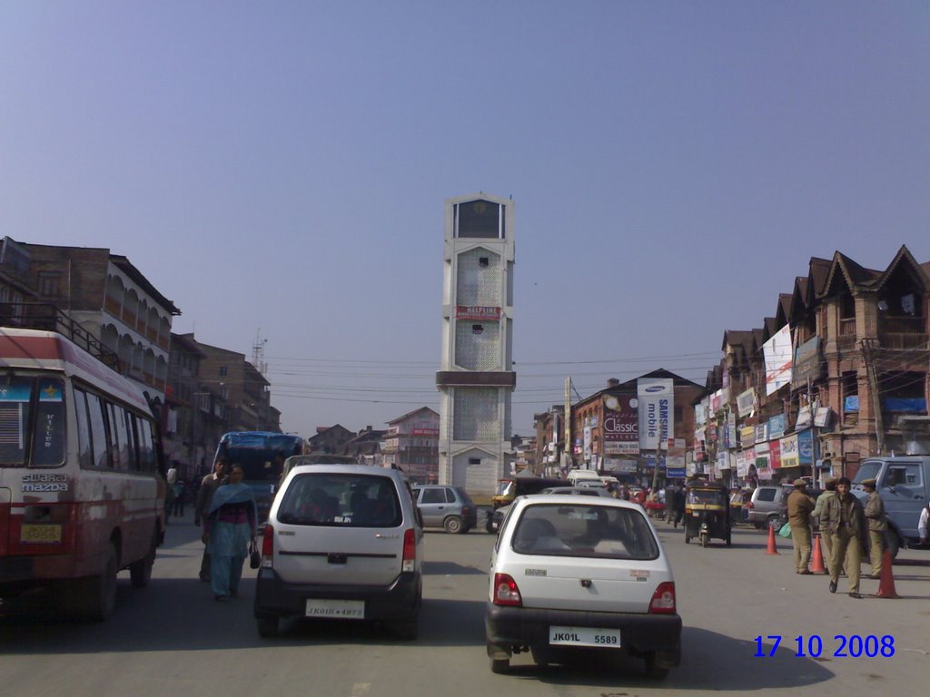 Red square of Kashmir