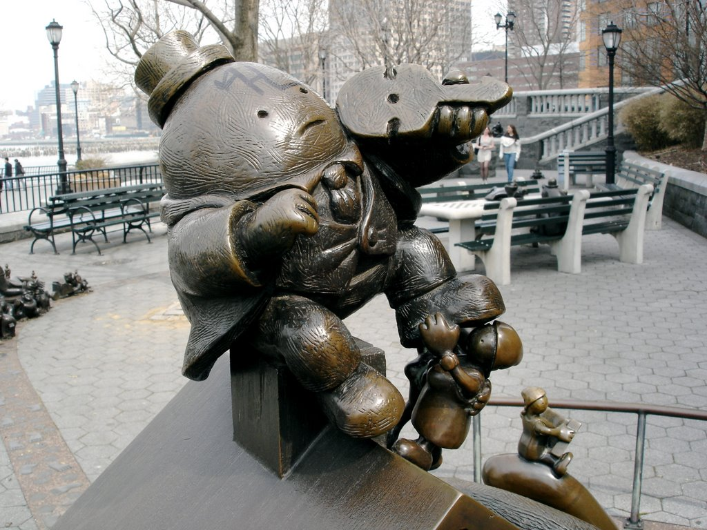 Nelson A. Rockefeller Park/The Real World/Tom Otterness