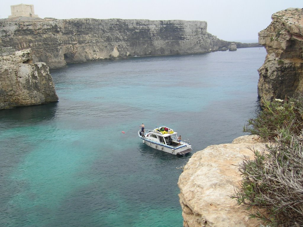 Diving on Comino