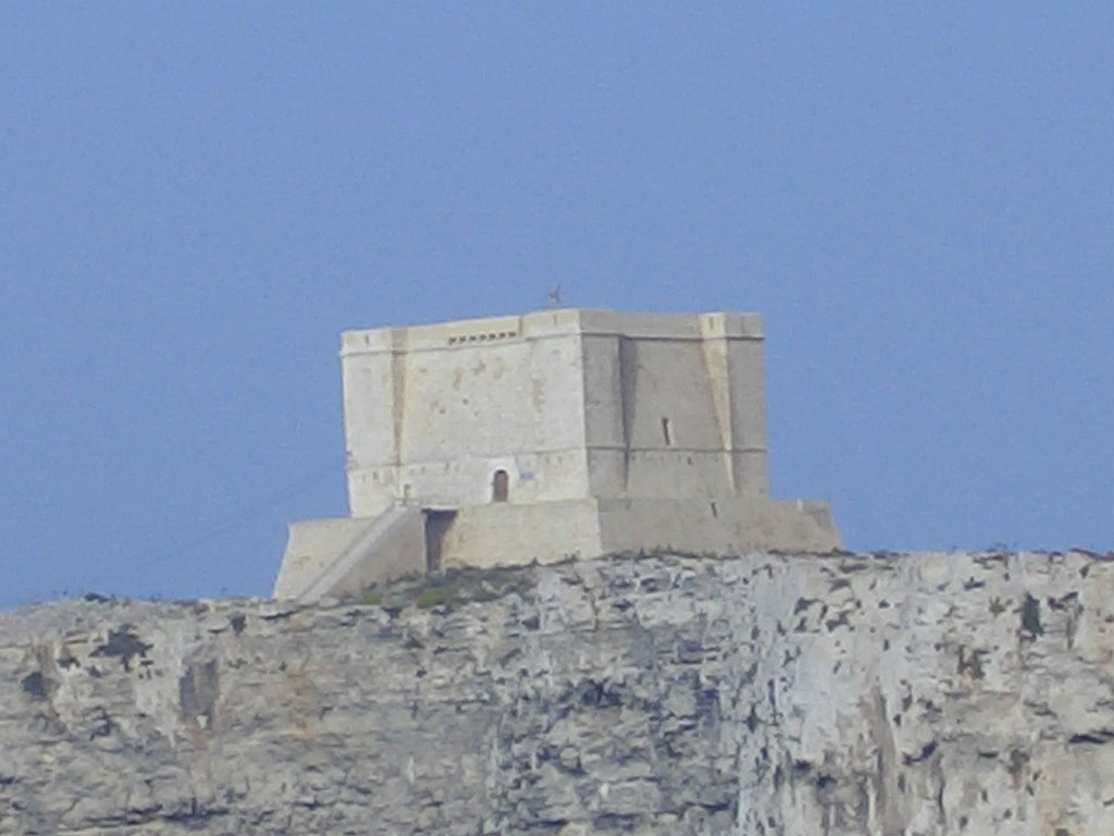 St Mary's Tower on Comino, built 1618