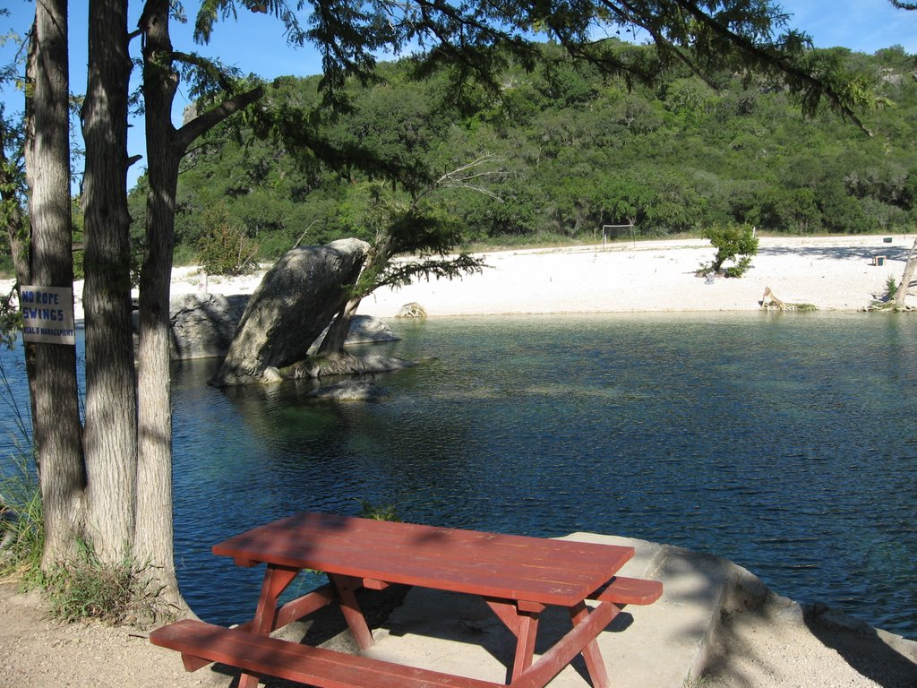 Swimming Hole on Frio River at Neal's Lodges | Mapio net