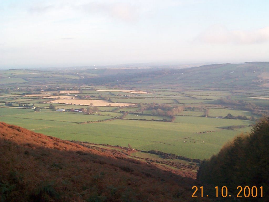 View from Annagh Hill