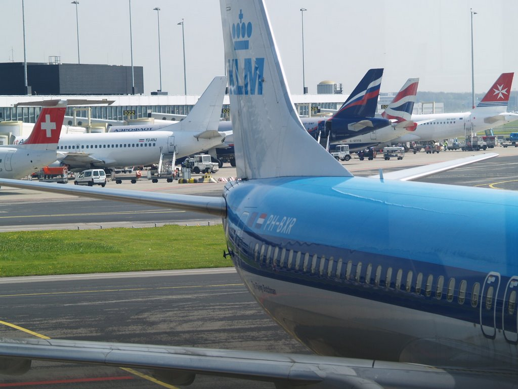 Just another day at Schiphol