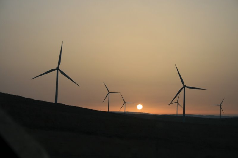Andalusien - Windpark 2008