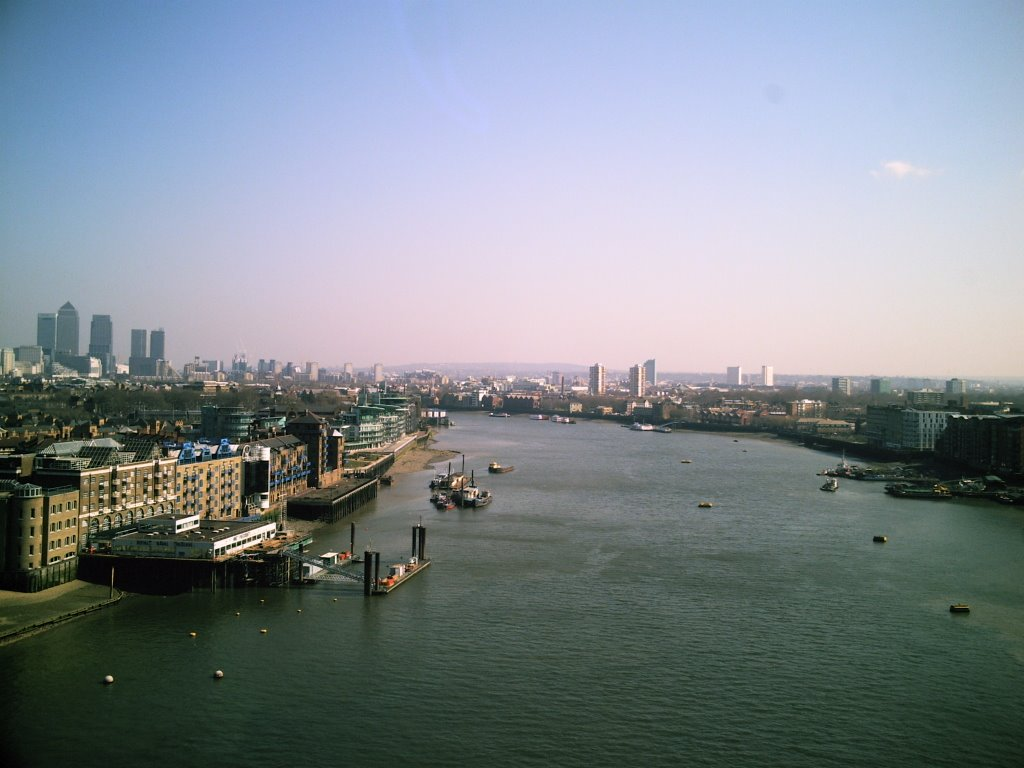 East End from Tower Bridge