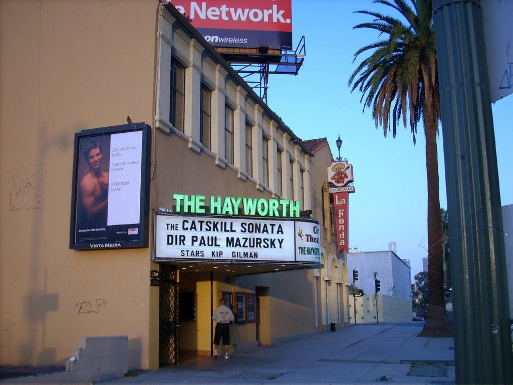 Hayworth Theater Marquee
