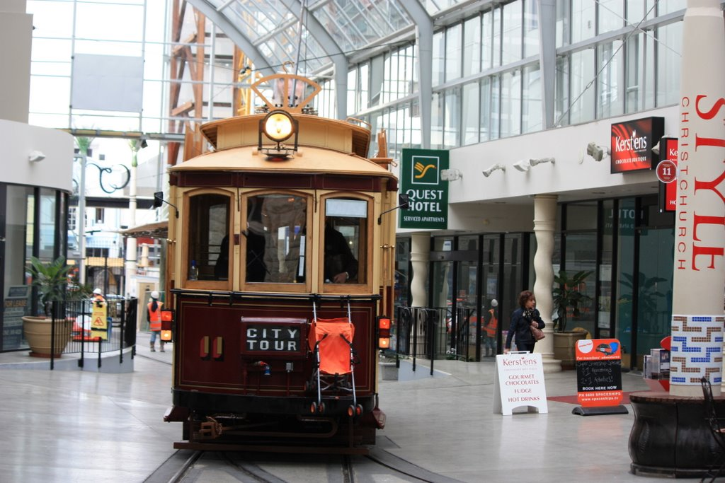 Tram Terminal, Christchurch City