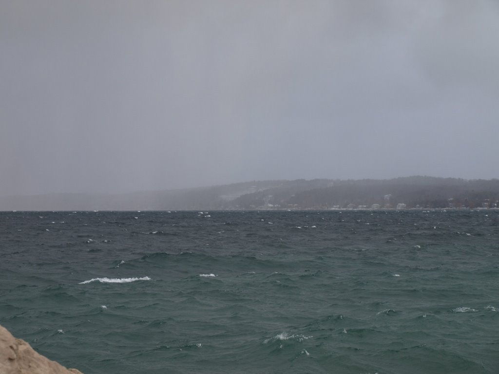 Old Mission Peninsula, In a Winter Storm