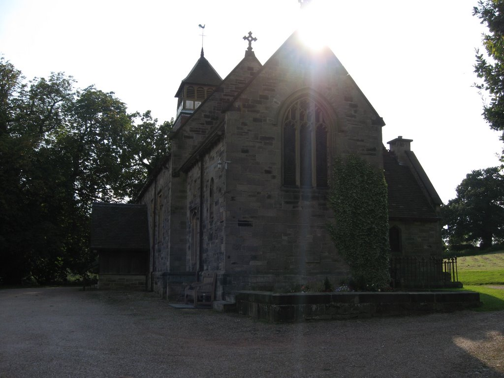 The Church dedicated to St Wystan at Bretby