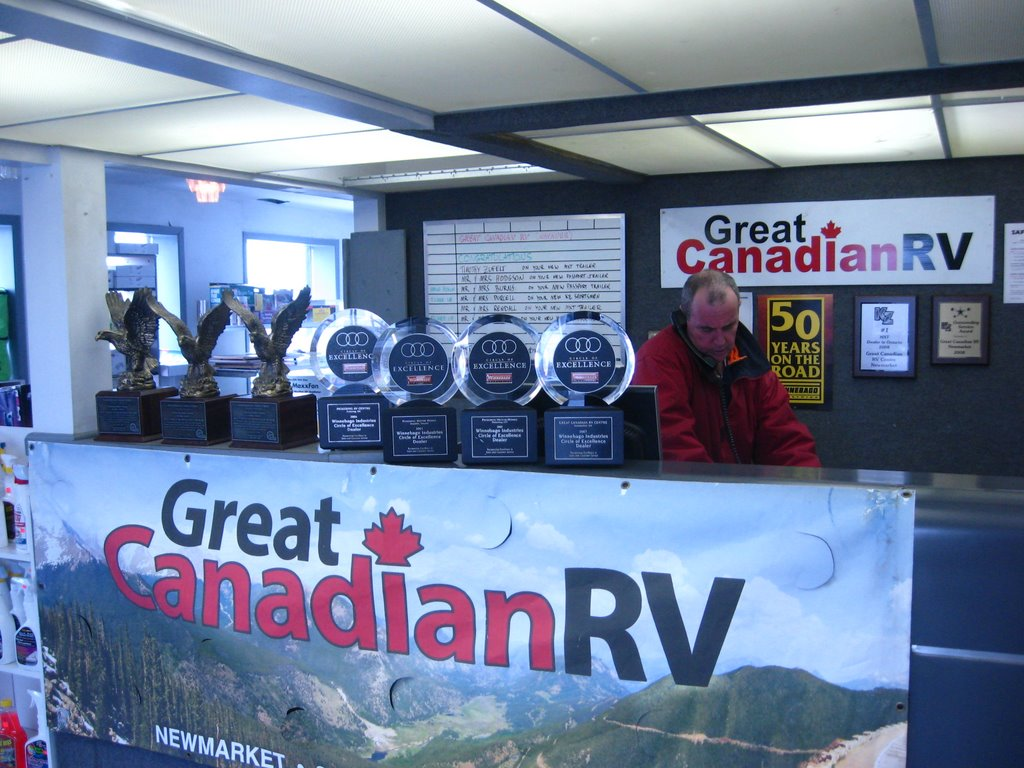 Great Canadian Rv >> Great Canadian Rv Napanee Our Reception Counter Mapio Net