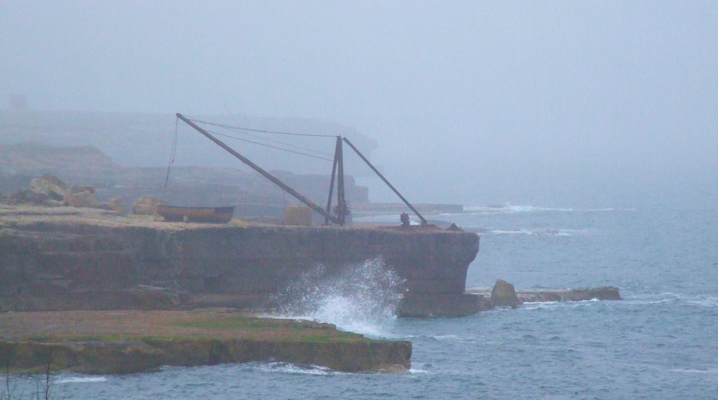 Portland Bill fishing boat launch