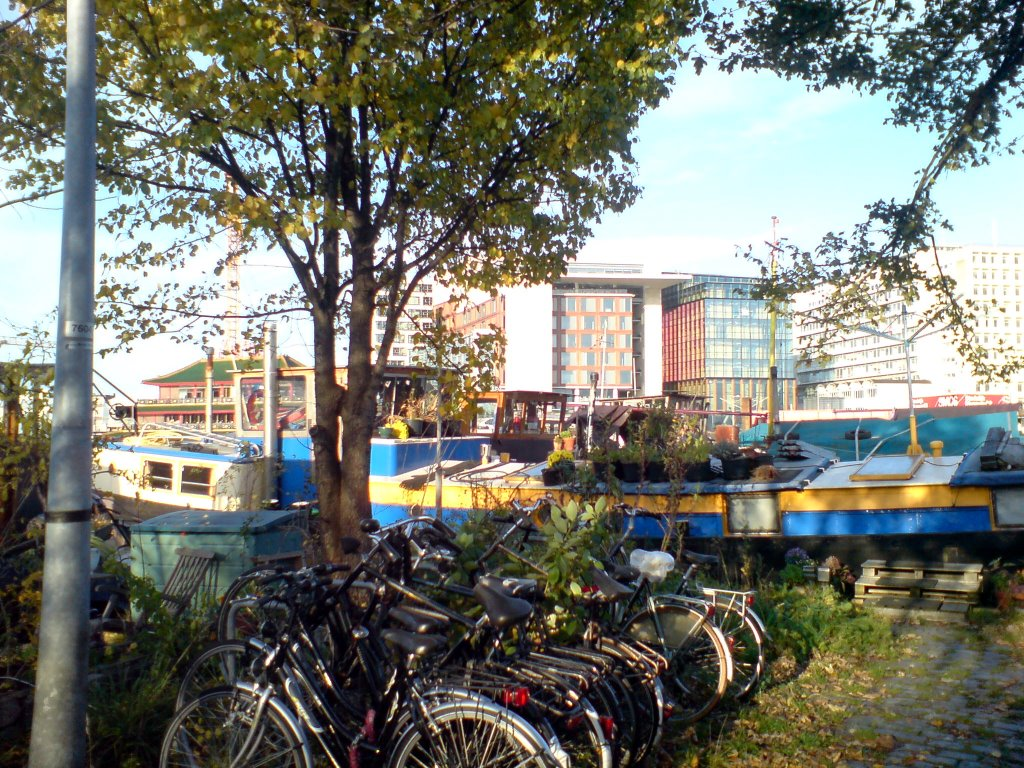 bikes and houseboats