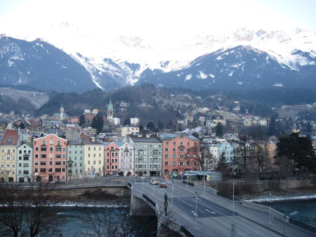 view from hotel innsbruck