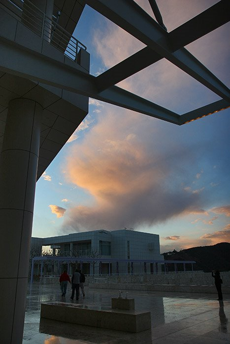 The Getty Center, Los Angeles, USA