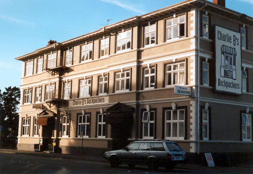 christchurch charlies backpackers (damaged by the earthquakes and now demolished)