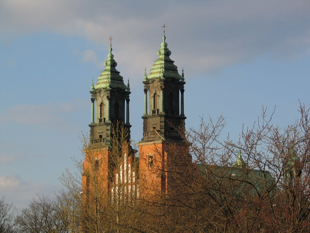 Cathedral in Poznań (Poland)