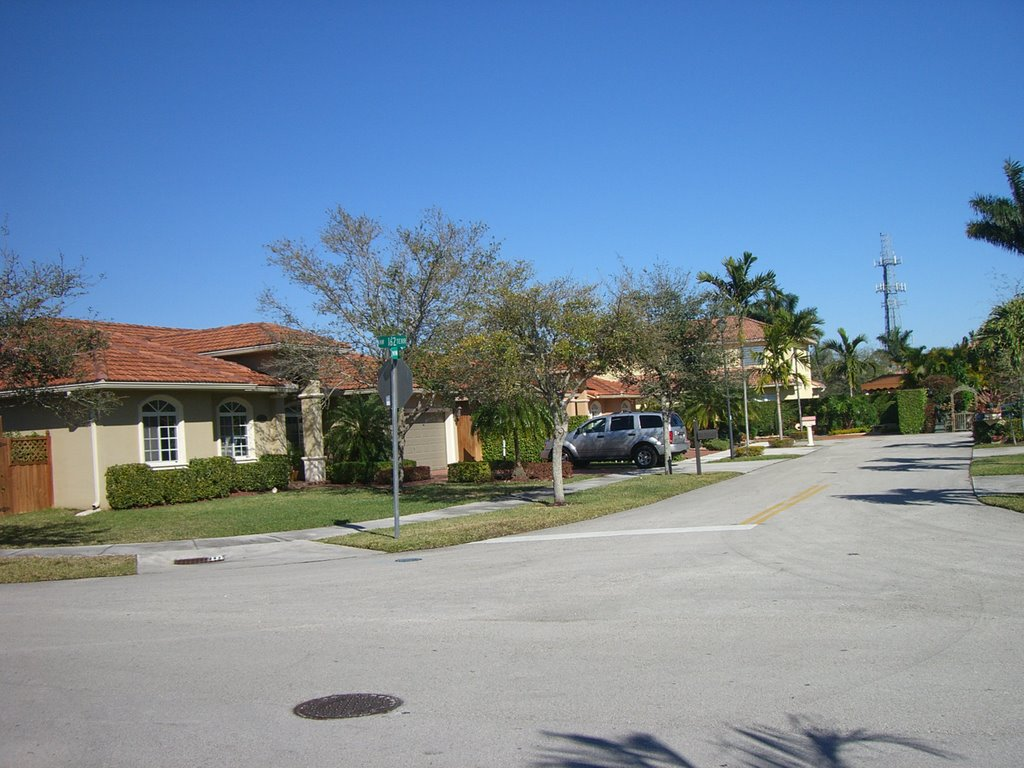 Miami Lakes neighborhood.