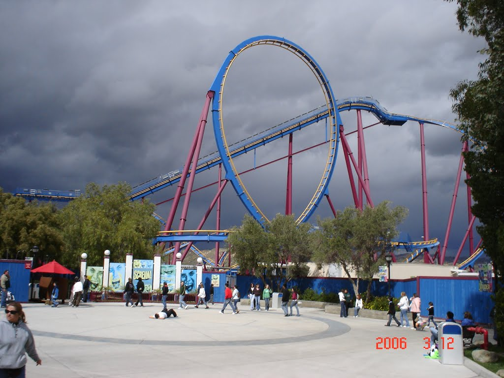 Goliath Six Flags Magic Mountain Mapio Weather Six Flags Best Picture Of Flag Imagesco