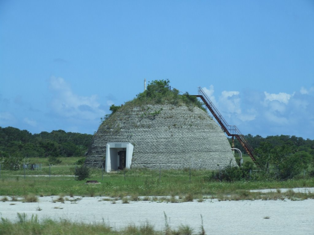 Blockhouse dome in abandoned Minuteman Silos at AFS Cape Canaveral, FL