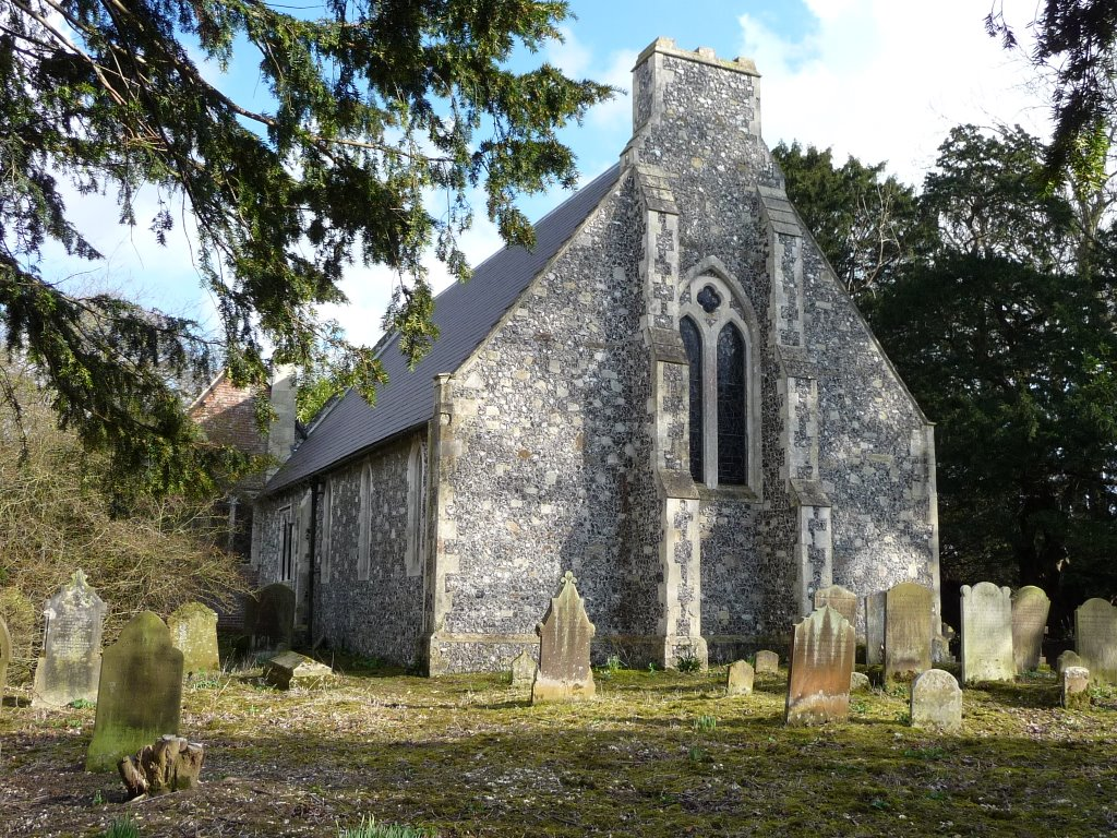All Saints, Waldershare Park
