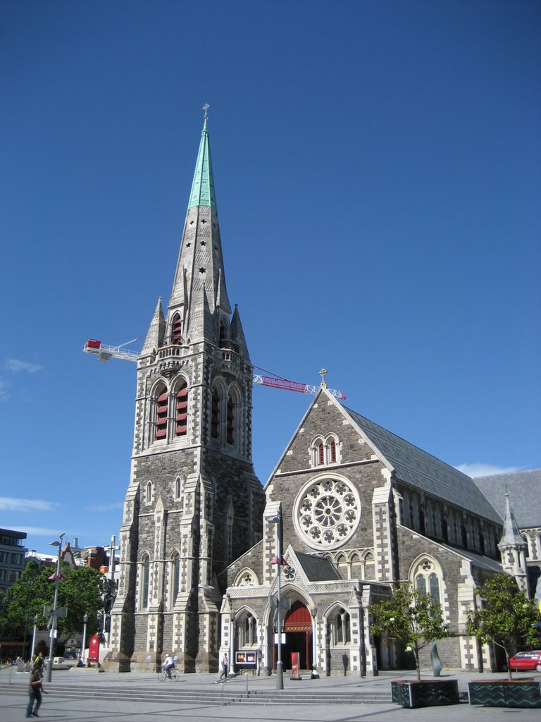 Cathedral Sqaure, Christchurch