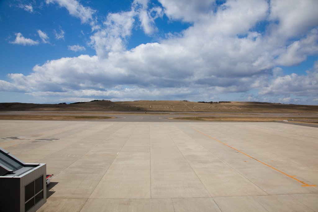 Runway of the Fukushima Airport 1(福島空港)