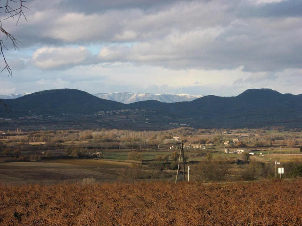 Cevennes view from Cabiac