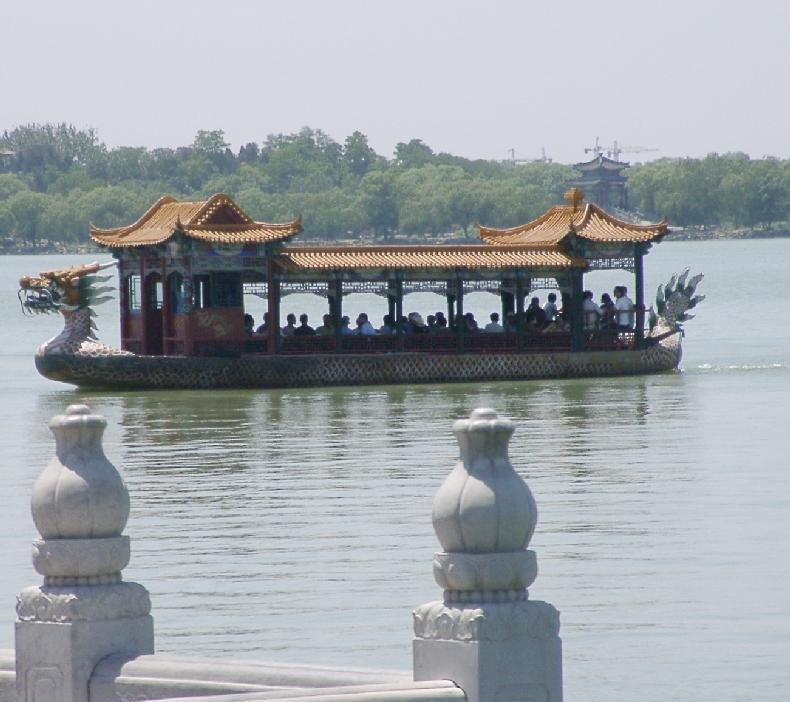 Boat in Summer palace