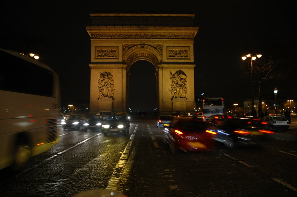L'Arc de triomphe from Champs Elysees