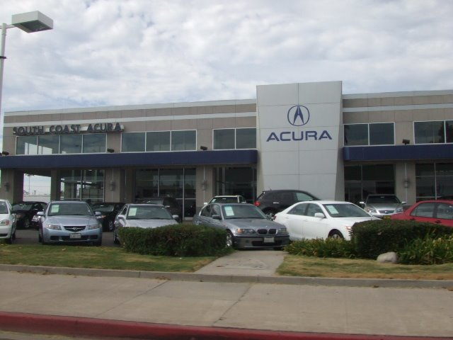 South Coast Acura >> South Coast Acura Mapio Net