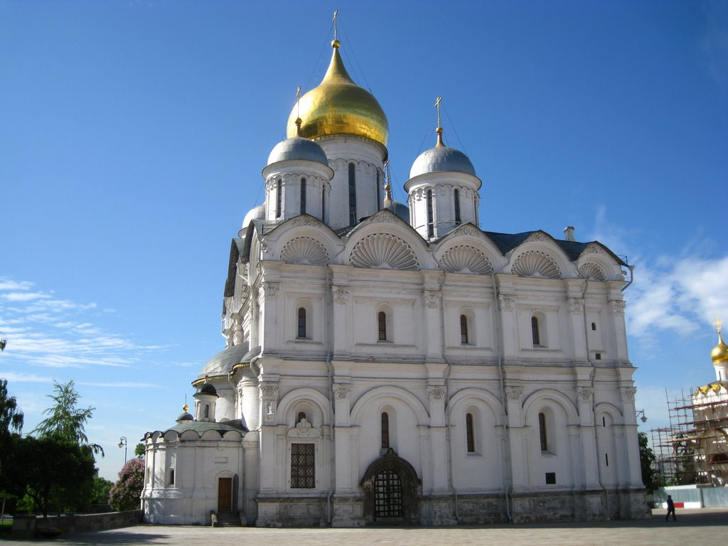The Cathedral of the Archangel, Kremlin, Moscow