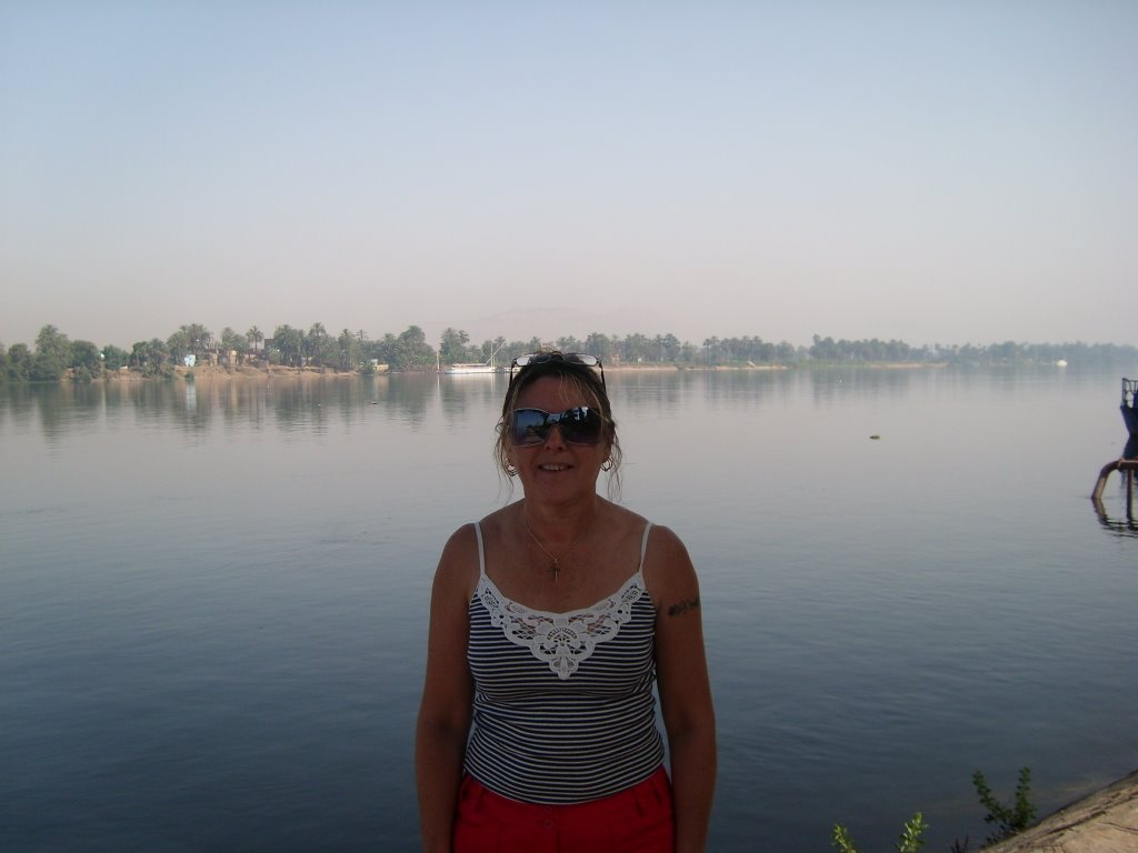 River Nile from the Jollie Ville!