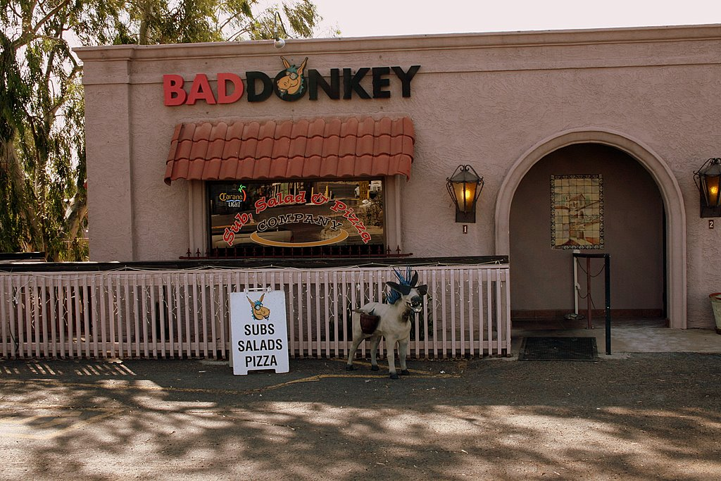 The Bad Donkey -- The best resturant around