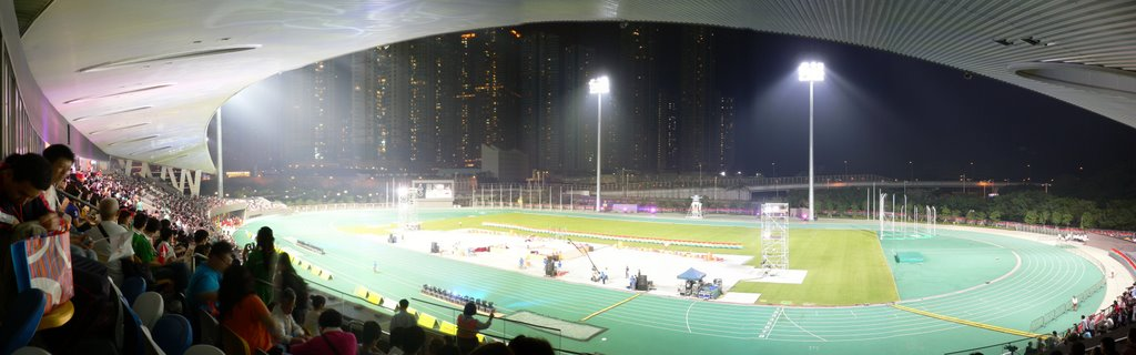 Tseung Kwan O Sports Ground May-2009 (The first times open to public)