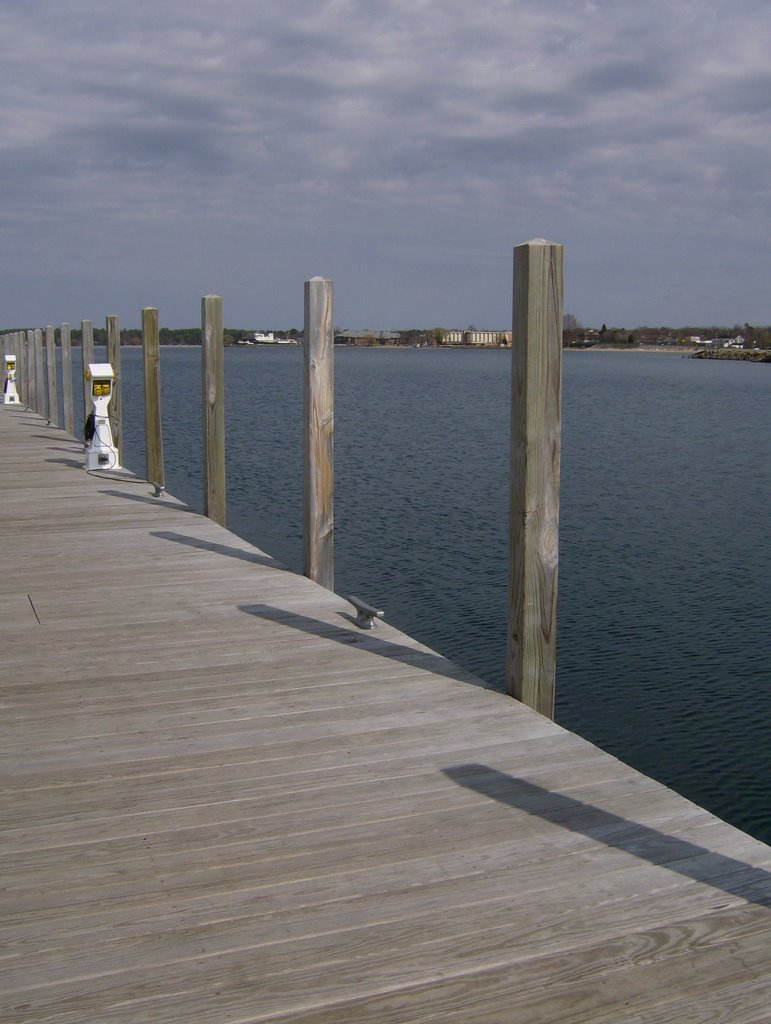 Looking East from the Marina