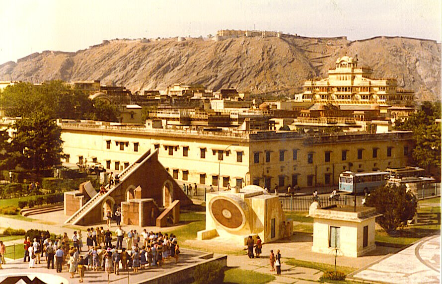 Jaipur 1980 Astronomical Observatory-© by leo1383
