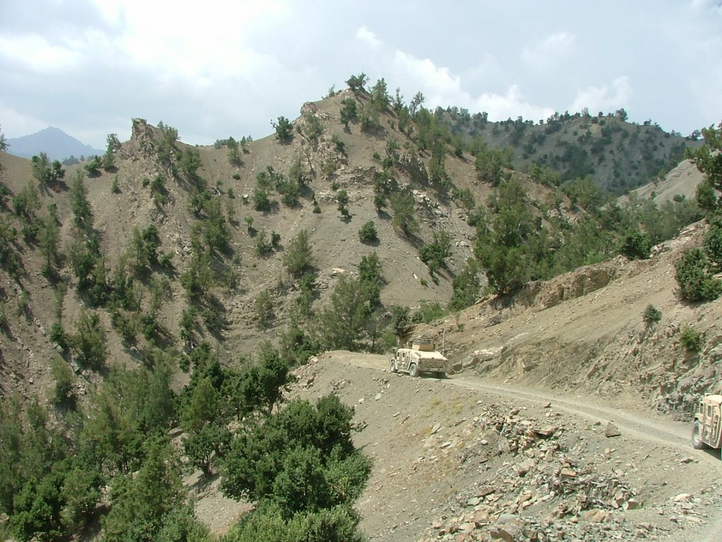 Somewhere between Gardez and Khost