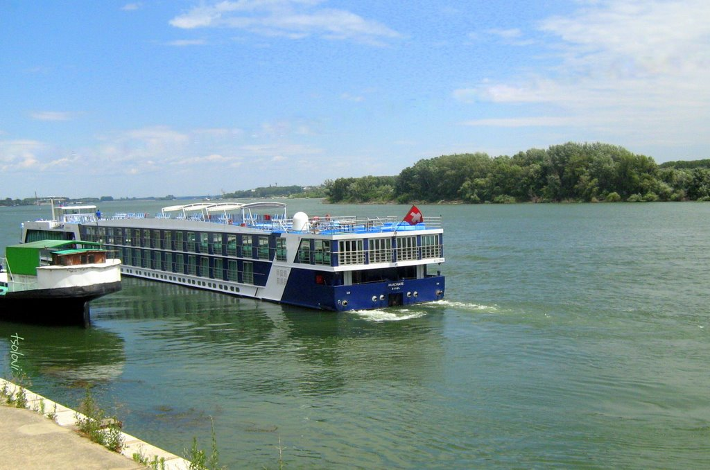 Port Vidin - river cruise ship Amadante | Mapio.net