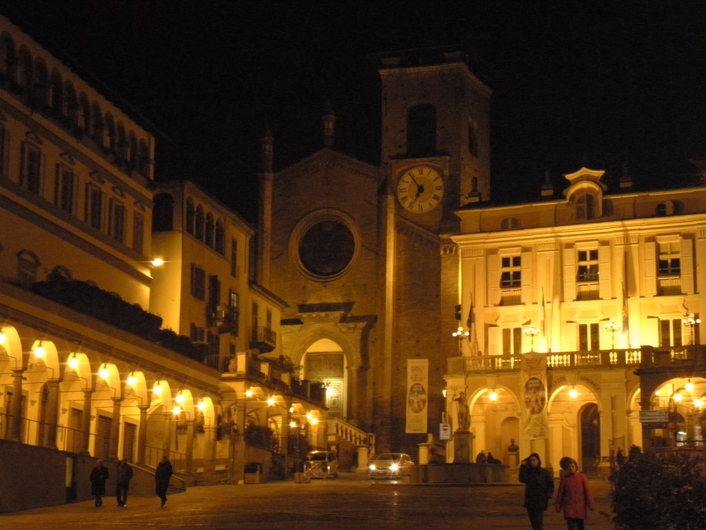 Moncalieri by night