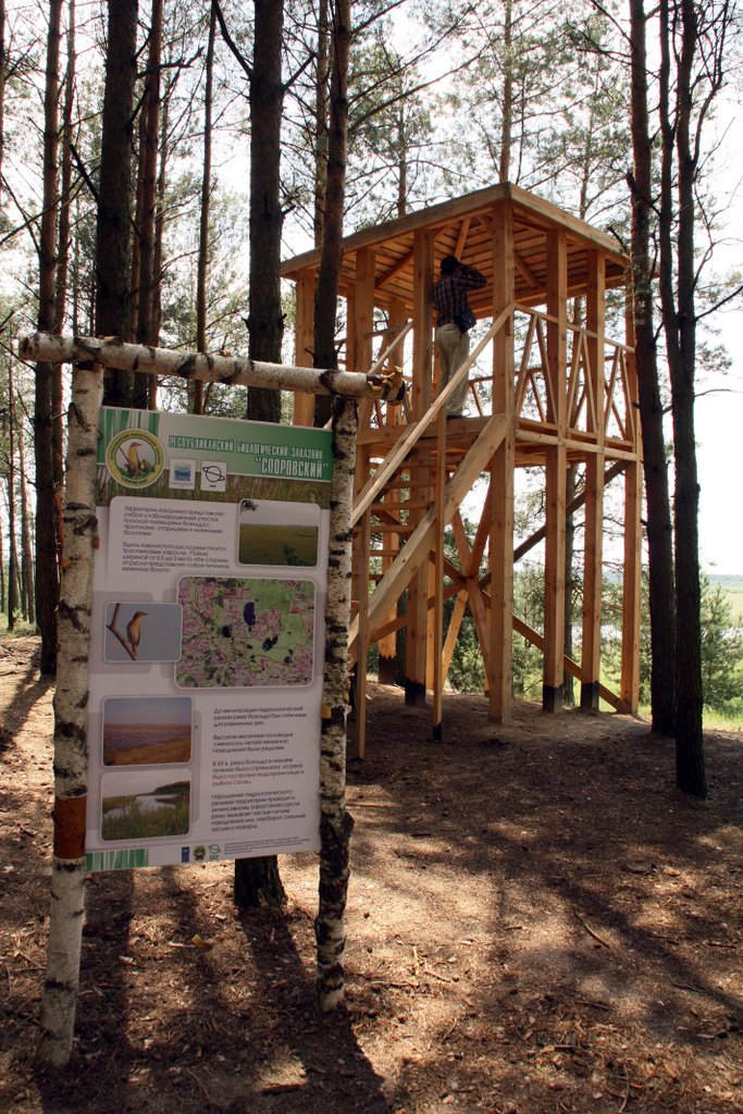 Observation Tower of the Ecological Path