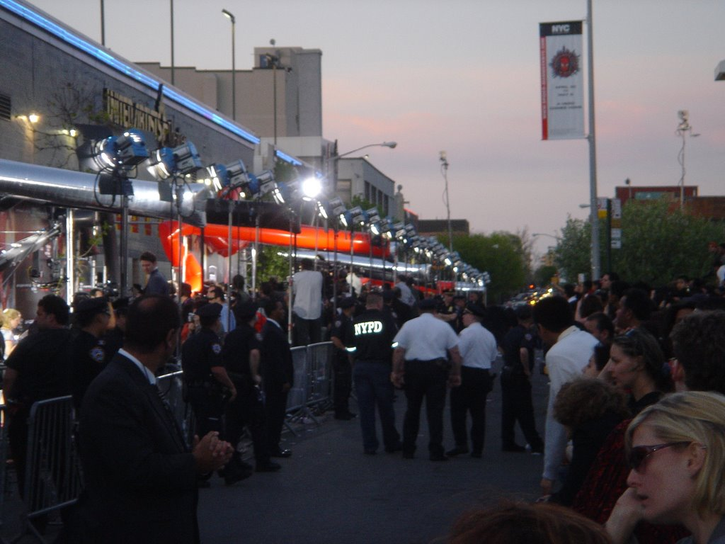 Spider-Man 3 Premiere in Astoria, Queens facing north