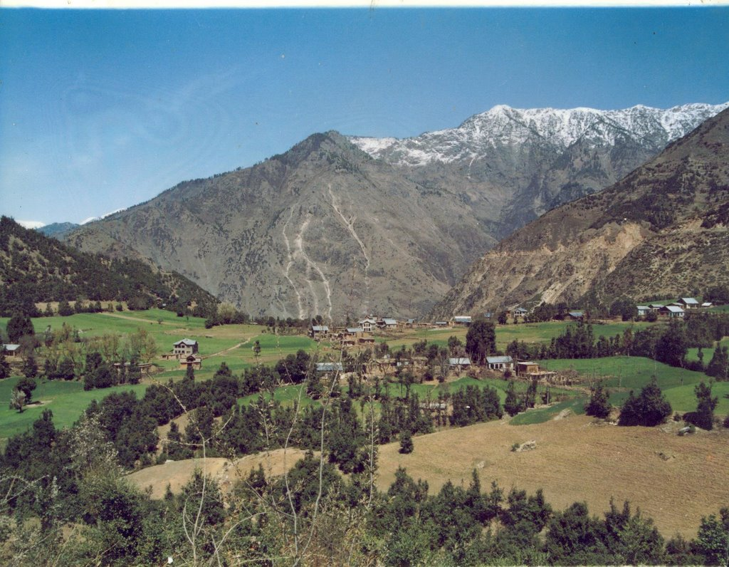 An old View of Village Cherhar