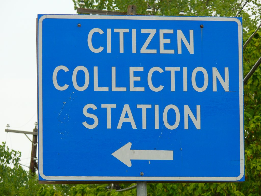 All Citizens Report to the Collection Station