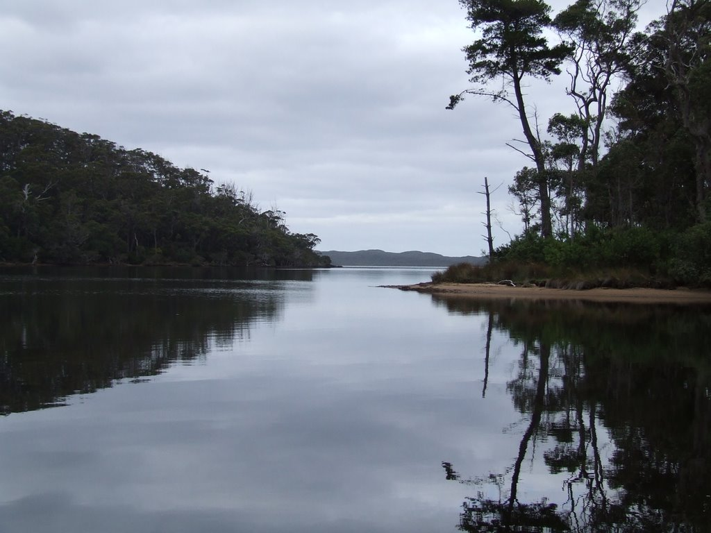 To Nornalup Inlet from Rest Point