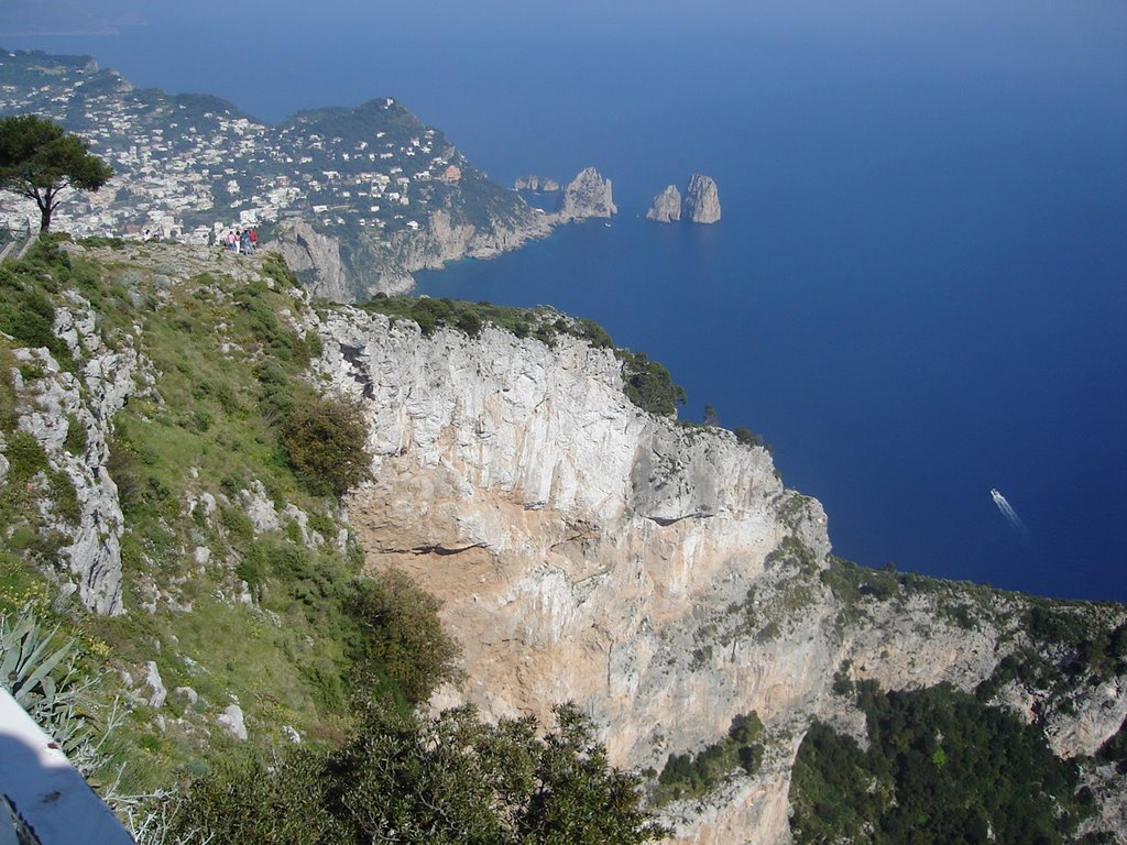 Capri, view east from station
