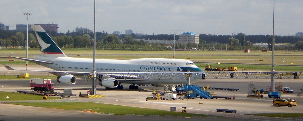 Boeing 747-400 de Cathay Pacific - ASIER IBAÑEZ