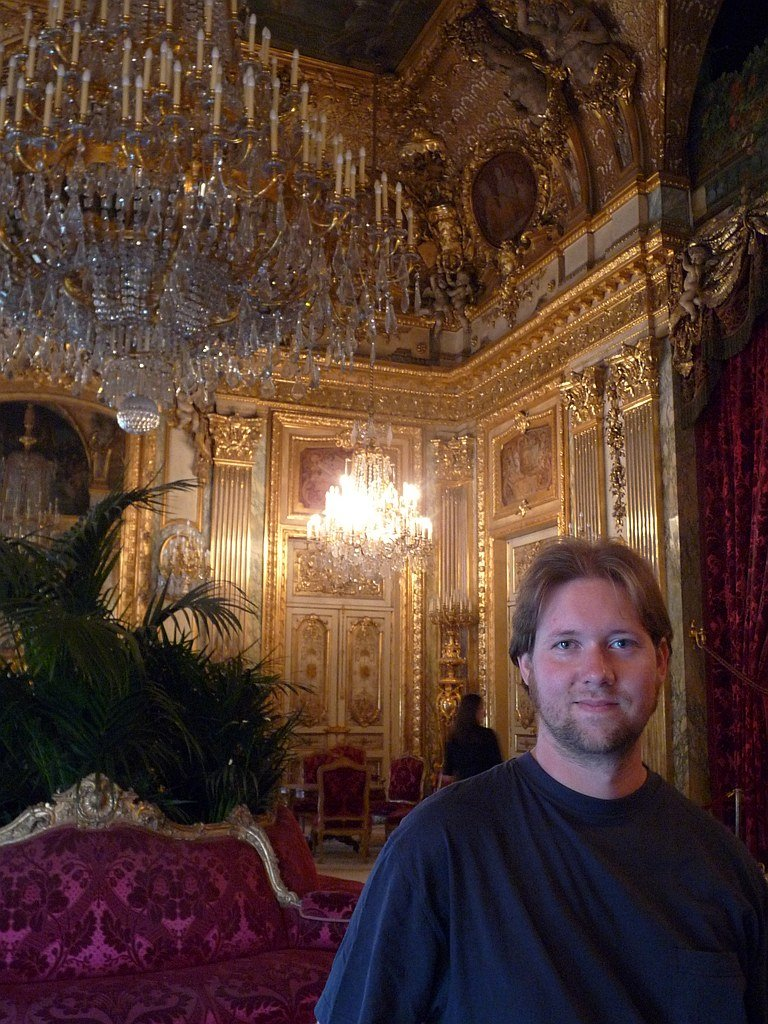 Musee du Louvre: Napoleon's Chambers