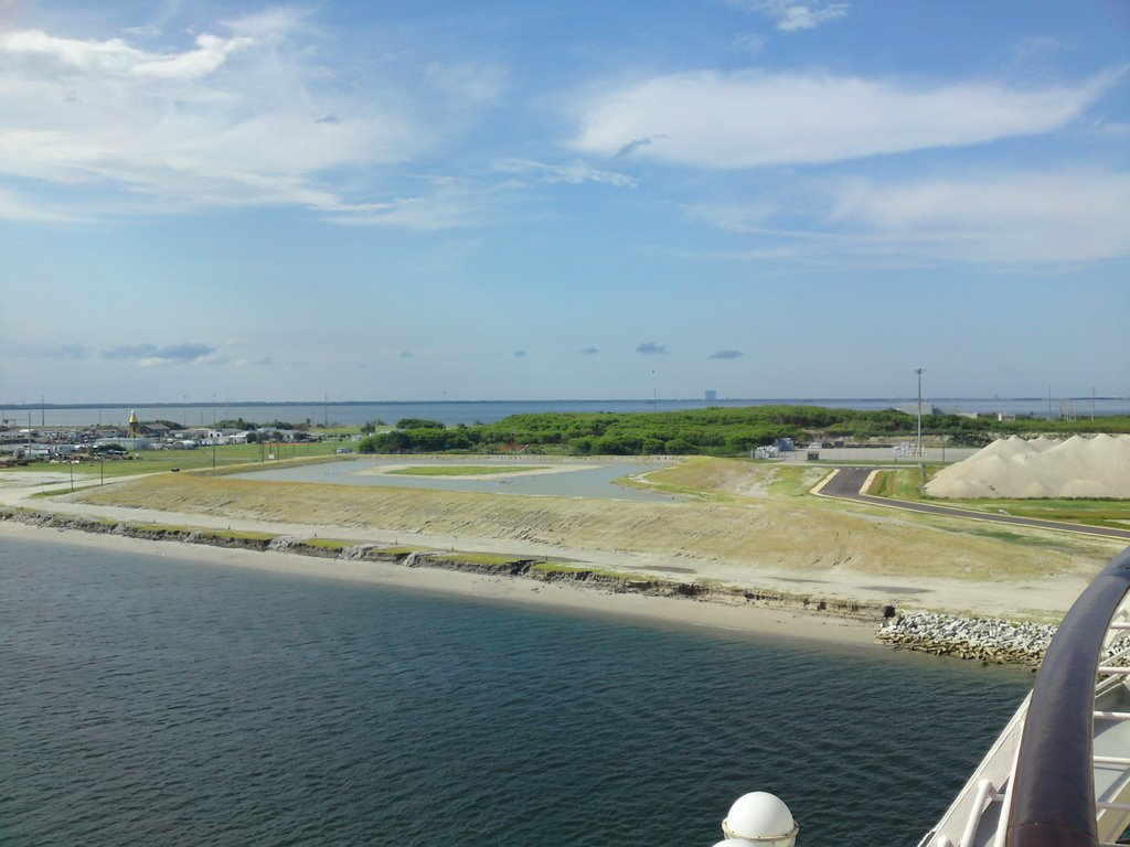 Leaving Port Canaveral